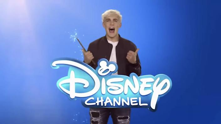 Jake Paul's Disney Channel intro became a meme after he got fired.