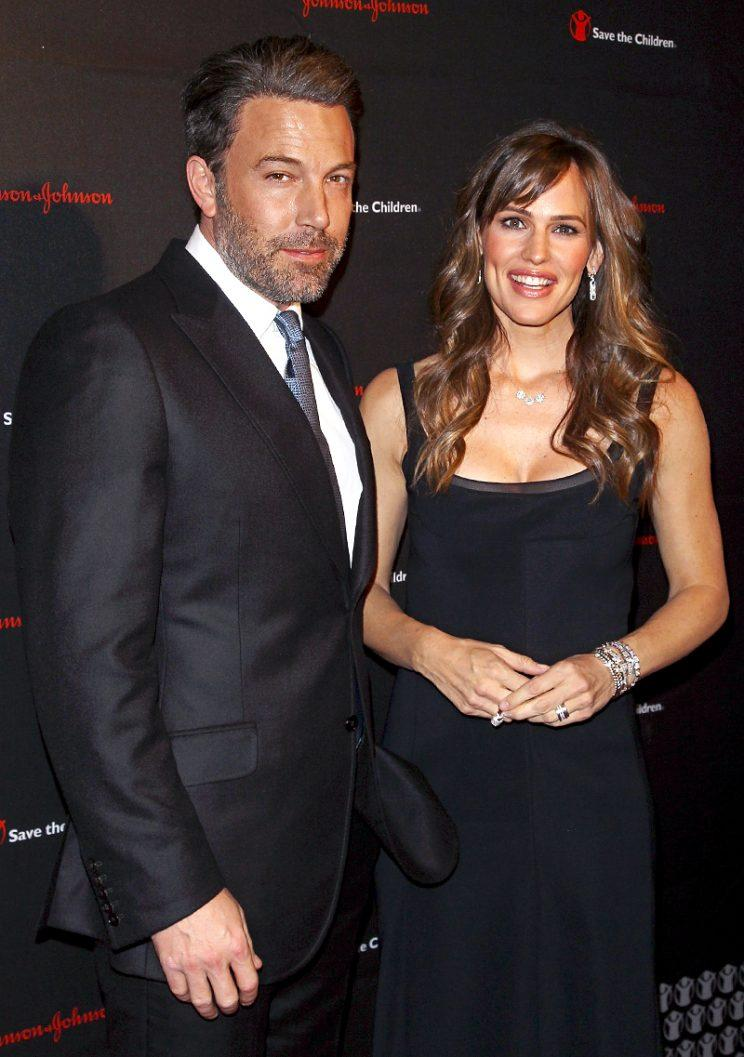 Ben Affleck and Jennifer Garner in November 2014. (Photo by Jim Spellman/WireImage)