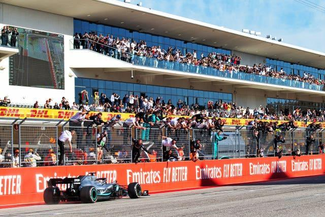 Austin could stage a second race following the cancellation of the Singapore GP