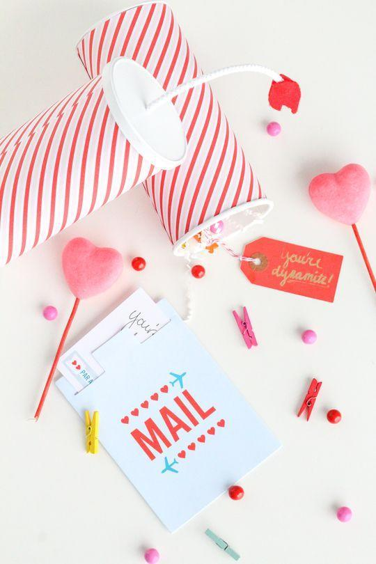 "<p>These adorable ""dynamite"" Valentines are packed with love notes and pretty surprises that are sure to blow your loved one away! These cuties can be crafted from an old food container or a mailing tube.</p><p><strong>See more at <a href=""https://sugarandcloth.com/diy-youre-dynamite-valentines/"" rel=""nofollow noopener"" target=""_blank"" data-ylk=""slk:Sugar & Cloth"" class=""link rapid-noclick-resp"">Sugar & Cloth</a>. </strong></p><p><a class=""link rapid-noclick-resp"" href=""https://go.redirectingat.com?id=74968X1596630&url=https%3A%2F%2Fwww.walmart.com%2Fip%2FChicago-Mailing-Tubes-Mailing-Tube-3-x-31%2F162991437&sref=https%3A%2F%2Fwww.thepioneerwoman.com%2Fhome-lifestyle%2Fcrafts-diy%2Fg35084525%2Fdiy-valentines-day-cards%2F"" rel=""nofollow noopener"" target=""_blank"" data-ylk=""slk:SHOP MAILING TUBES"">SHOP MAILING TUBES</a></p>"