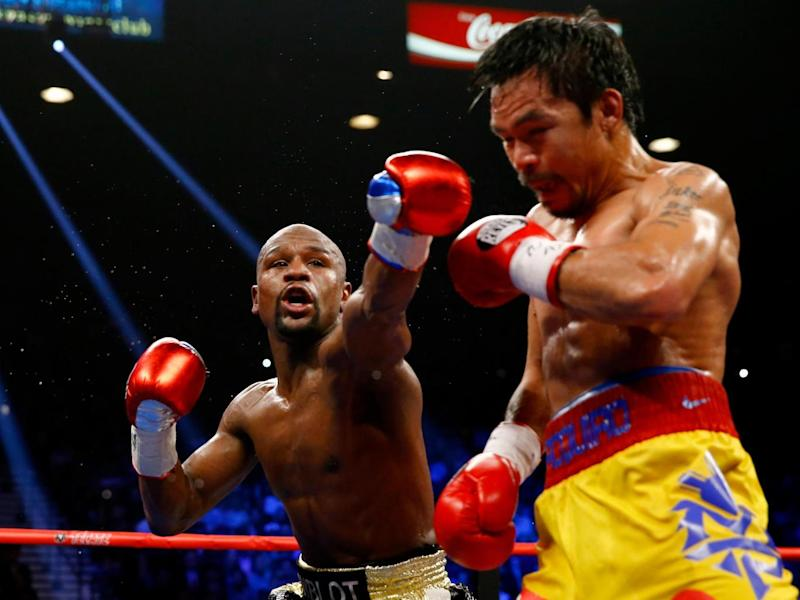 Mayweather v Pacquiao will be surpassed by the McGregor fight (Getty)