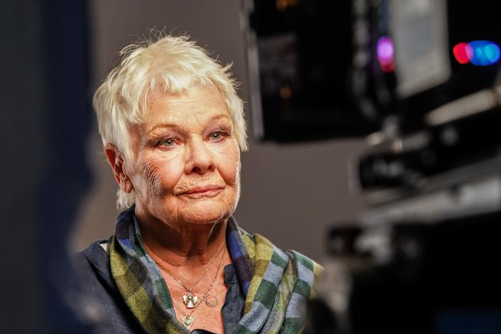 LONDON - OCTOBER 16: Dame Judi Dench stars in the Red Nose Day 2021, Funny is Power campaign film, What is it to be Human? on October 16,2020 in London,England. Red Nose Day takes place on March 19th 2021. (Photo by Jacqui Black/Comic Relief/Getty Images)
