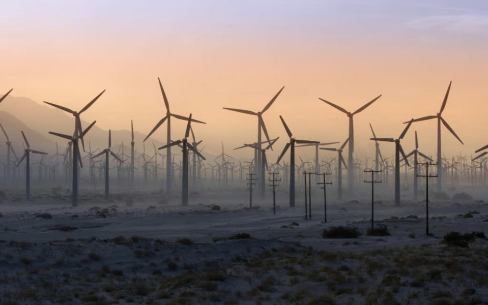 It takes wind and solar operations in three different countries to satisfy Google's 3,186-megawatt needs.