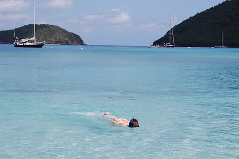 Snorkeling St. John's. (Photo courtesy of flickr.com/photos/42402904@N00.)