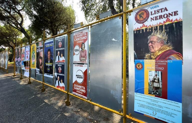 Some 12 million voters are eligible to cast ballots in Italy's mayoral elections (AFP/Alberto PIZZOLI)