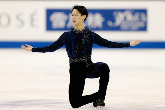 Kazakh figure skater Denis Ten died after being stabbed in an attempted robbery. (ISU/ISU via Getty Images)