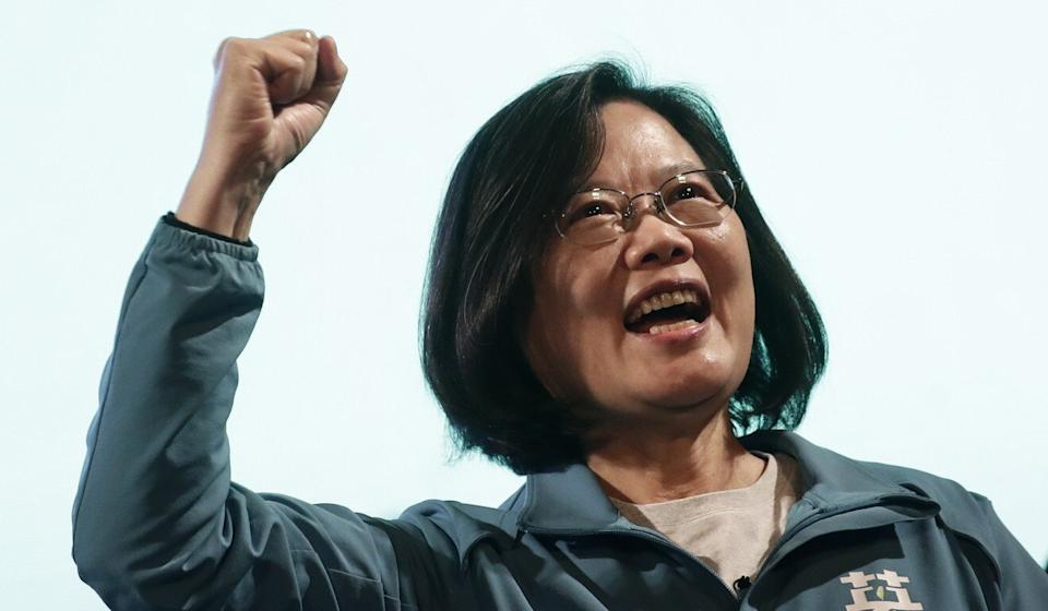 Taiwanese President Tsai Ing-wen, re-elected in January, may be a focus of aggressive Chinese moves, analysts said. Photo: EPA-EFE