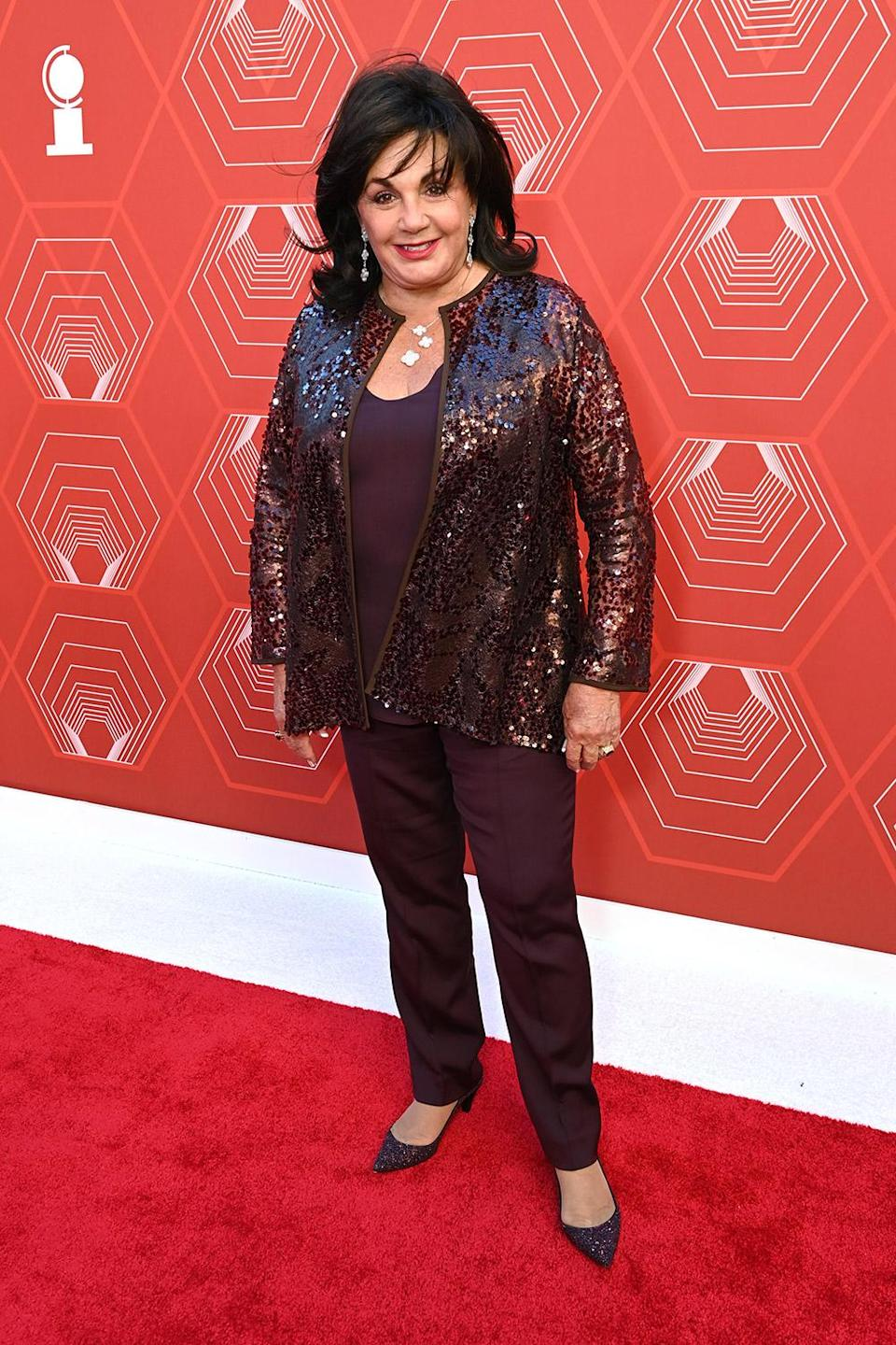 <p>The Broadway League President Charlotte St. Martin attends the 74th Annual Tony Awards</p>