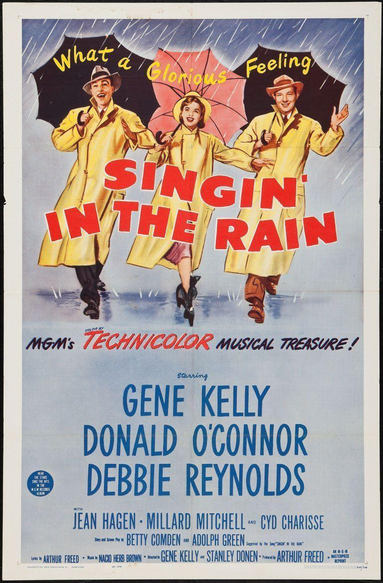 "<p>They just don't make 'em like this anymore. It's the story of a film studio struggling to make the leap from silent films to talkies. Gene Kelly, Donald O'Connor, and Debbie Reynolds have the on-screen chemistry that all other actors should aim for. You'll grin from ear to ear until the credits roll.</p><p><a class=""link rapid-noclick-resp"" href=""https://www.amazon.com/Singin-Rain-Gene-Kelly/dp/B000NI8F5G/ref=sr_1_1?tag=syn-yahoo-20&ascsubtag=%5Bartid%7C10063.g.34344525%5Bsrc%7Cyahoo-us"" rel=""nofollow noopener"" target=""_blank"" data-ylk=""slk:WATCH NOW"">WATCH NOW</a></p>"