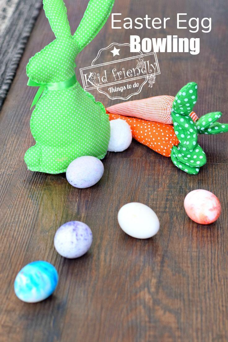 """<p>Swap the hunt for a fun game of Easter egg bowling. The whole family can enjoy this activity, as players see who can get their eggs closest to the white egg wins.</p><p><strong>Get the tutorial at <a href=""""https://kidfriendlythingstodo.com/easter-egg-bowling-a-fun-family-easter-game-kid-friendly-things-to-do/"""" rel=""""nofollow noopener"""" target=""""_blank"""" data-ylk=""""slk:Kid Friendly Things to Do"""" class=""""link rapid-noclick-resp"""">Kid Friendly Things to Do</a>.</strong></p><p><strong><a class=""""link rapid-noclick-resp"""" href=""""https://www.amazon.com/Food-Coloring-ColorKitchen-Artificial-Decorating/dp/B0798B5ZGF/?tag=syn-yahoo-20&ascsubtag=%5Bartid%7C10050.g.4083%5Bsrc%7Cyahoo-us"""" rel=""""nofollow noopener"""" target=""""_blank"""" data-ylk=""""slk:SHOP EGG DYE KITS"""">SHOP EGG DYE KITS</a><br></strong></p>"""