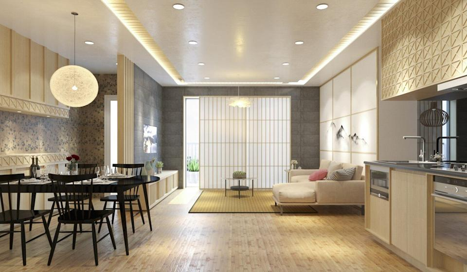 Flats at The Minato Residence in Hai Phong, northern Vietnam, start at HK$1 million (US$129,000) for a two-bedroom unit. Photo: Handout