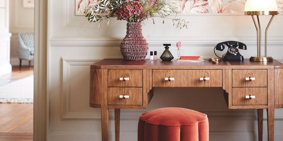 """<p><strong>Anthropologie is collaborating with Soho Home on a stunning new interiors collection of more than 30 pieces, with prices starting from £8.</strong></p><p><strong></strong>Reflecting Anthropologie's design ethos, the seriously lustworthy range takes inspiration from both 40 Greek Street, Soho House's original location, and the more recently opened Barcelona Soho House.</p><p>The collaboration is the perfect partnership. On the one hand you have <a href=""""https://www.anthropologie.com/en-gb/"""" target=""""_blank"""">Anthropologie</a>, a one-of-a-kind destination featuring a curated mix of clothing, accessories, gifts and home décor to reflect your personal style. Paired with <a href=""""https://www.sohohome.com/"""" target=""""_blank"""">Soho Home</a> – the interiors collection from members' club Soho House featuring furniture, lighting, tableware, textiles and accessories inspired by, or seen in, the Houses worldwide – and the result is a beautiful yet functional range that is effortlessly stylish. </p><p>The range offers something for everyone but we especially love the Sofia upholstered bed, the Peggy floor lamp, the gorgeous Harrison coffee table, and that incredible Jaxabel chandelier. Elsewhere, the Sandy side table is perfection and, as for the velvet Adriana pouffe, it's almost too good to sit on. </p><p>From casual mid-century designs to art deco-inspired pieces to tactile textiles, this timeless range will really personalise your home.</p><p>The collection will be available in stores and online at <a href=""""https://www.anthropologie.com/en-gb/"""" target=""""_blank"""">anthropologie.com</a> as well as at <a href=""""https://www.sohohome.com/"""" target=""""_blank"""">sohohome.com</a> from 27th August 2019. Take a sneak peek at the range...</p>"""