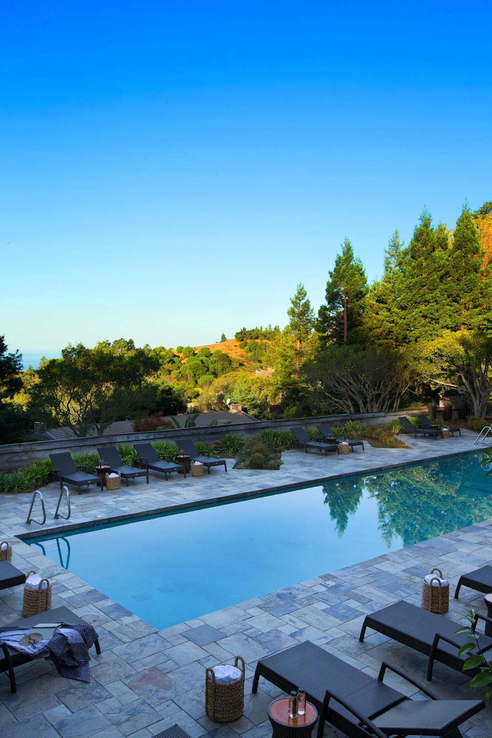 """This beloved <a href=""""https://www.cntraveler.com/story/3-days-in-monterey-and-big-sur?mbid=synd_yahoo_rss"""" rel=""""nofollow noopener"""" target=""""_blank"""" data-ylk=""""slk:Big Sur"""" class=""""link rapid-noclick-resp"""">Big Sur</a> resort dramatically overlooking the Pacific and surrounded by acres of forest received a total reboot in 2017. And while it may look new—rooms have all been updated with plenty of wood and neutrals, 15 luxe safari-style tents have been added to the roster (though tent guests don't currently have access to the resort, and are no longer subject to the resort fee) and the spa got a relaxation deck that looks out at the ocean—it hasn't lost its laid-back 1970s vibe. If you want to totally disconnect, and plug in those connectivity-deprived gaps with hiking, forest bathing, spa treatments, and yoga, it's for sure worth it. There really is something for everyone here—except for maybe the type-A person who needs lots of scheduled activities. Big Sur truly is one of the most beautiful places on earth, and Ventana's mission is to spotlight and champion its setting."""