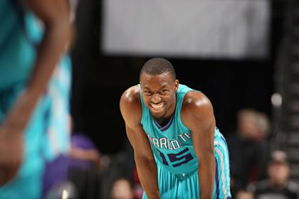 Kemba Walker's absence will be a blow to the Hornets' playoff push. (Getty)