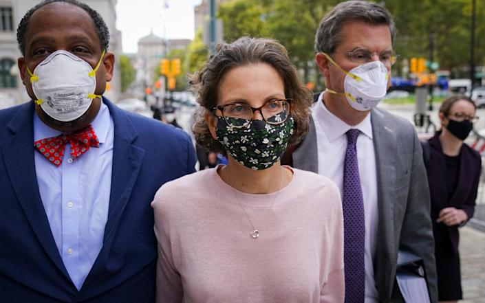 Clare Bronfman, the Seagram's liquor fortune heir and a wealthy benefactor of Keith Raniere, was charged over her role in the cult - AP