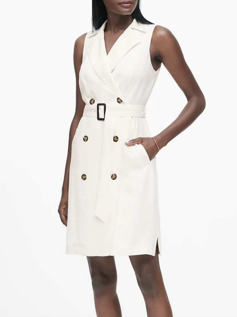 Double-Breasted Trench Dress (Photo: Banana Republic)