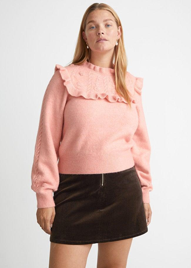 """<br><br><strong>& Other Stories</strong> Corduroy Mini Skirt, $, available at <a href=""""https://go.skimresources.com/?id=30283X879131&url=https%3A%2F%2Fwww.stories.com%2Fen_usd%2Fclothing%2Fskirts%2Fmini-skirts%2Fproduct.corduroy-mini-skirt-brown.1001709002.html"""" rel=""""nofollow noopener"""" target=""""_blank"""" data-ylk=""""slk:& Other Stories"""" class=""""link rapid-noclick-resp"""">& Other Stories</a>"""