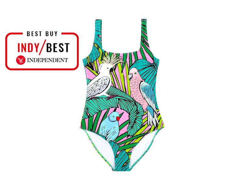 Take a dip in your local lido with this swimsuit made from plastic bottlesThe Independent