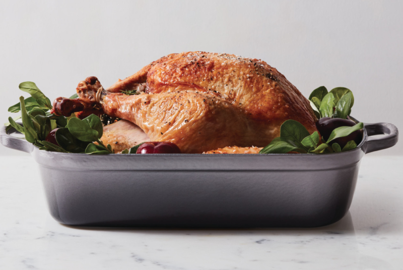 Step up your turkey game. (Photo: Le Creuset)