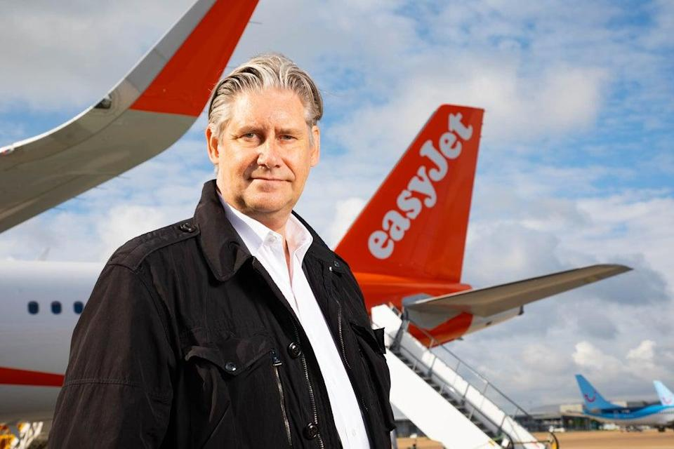 Johan Lundgren, the boss of easyJet, said it is clear a recovery is under way (David Parry/PA) (PA Wire)