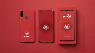 The Wendy's Phone (CNW Group/Wendy's Restaurants of Canada)