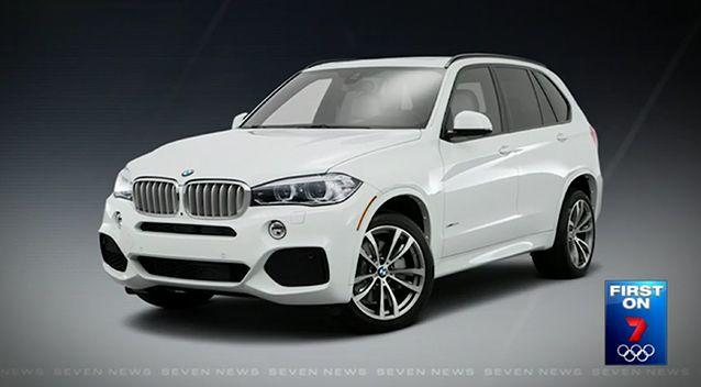 The girl and her father were in a BMW X5 like this one when they were carjacked. Photo: Supplied