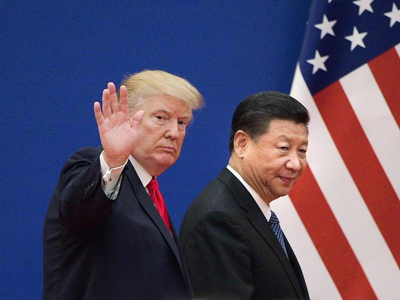 The trade war between the US and China has been raging since 2018: Getty
