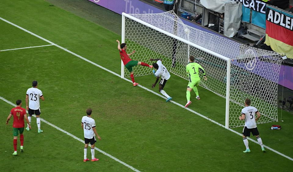 Diogo Jota taps home a reply for Portugal (Getty Images)