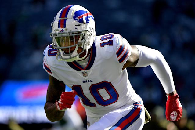 The Buffalo Bills released Terrelle Pryor on Tuesday, after just two weeks with the team. (Getty Images)
