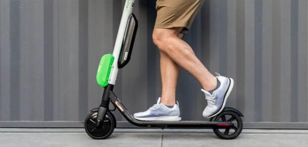 First approved in July 2019, Edmonton has licensed up to 4,000 e-scooters through three companies.  (Lime - image credit)