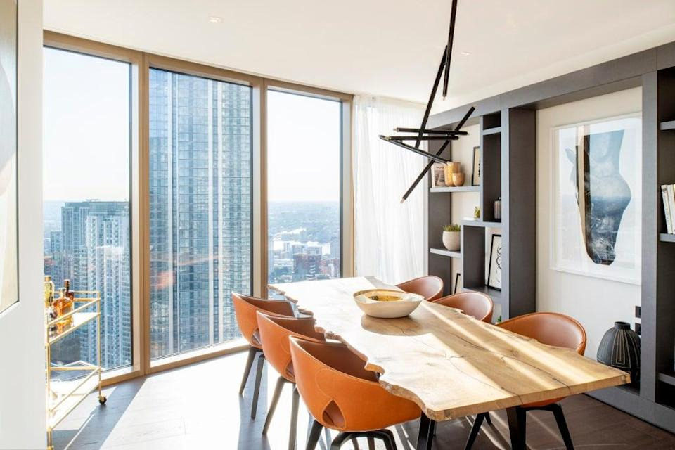 One Park Drive interiors maintain straight lines that are user-friendly (LEE MAWDSLEY)