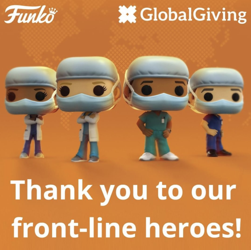 Funko has created a line of toys representing healthcare workers. (Photo: Instagram)