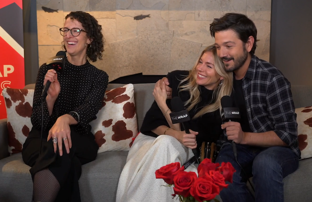 'Wander Darkly' Stars Diego Luna and Sienna Miller Had to 'Stop Looking Happy' During Filming (Video)