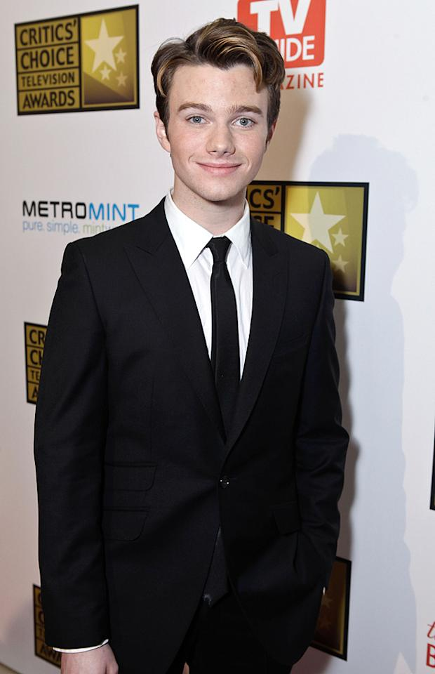 """<p class=""""MsoNormal"""">Chris Colfer, 22, shot to fame as """"Glee's"""" Kurt Hummel. Although he lives as an openly gay man, he explained to TV's """"Piers Morgan Tonight"""" that he often takes photos with lawmakers that vote against gay rights. """"It's more likely they'll change their mind positively if I give them the picture,"""" Colfer said. """"It's great when people come up and they're like, 'Oh my god, I just love you. Can I have a picture with you?' And I'll be like, 'Yeah, sure you don't believe in me and my rights but you want a picture with me. Sure, sure I'll take a picture with you' ... it is kind of nice when people believe so strongly against you yet they want proof that they met you. It's kind of awesome.""""</p>"""