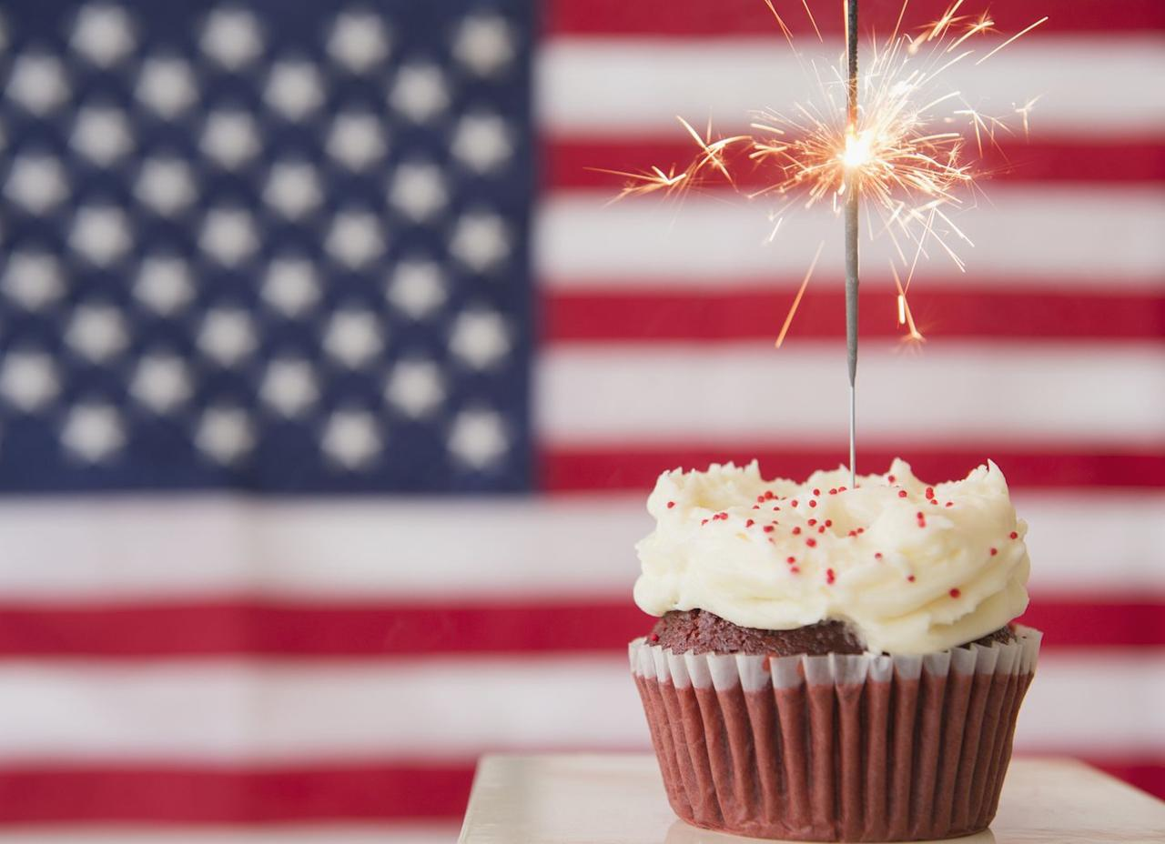 "<p>You can't celebrate America's birthday without some <a href=""https://www.goodhousekeeping.com/holidays/g1748/red-white-blue-july-fourth-desserts/"" target=""_blank"">red, white, and blue desserts</a>! After baking some of the best cupcakes, brownies, and <a href=""https://www.goodhousekeeping.com/holidays/g32446340/fourth-of-july-cake-ideas/"" target=""_blank"">4th of July cakes</a>, the whole family can join in on the festive decorating  — or even compete in a friendly bake-off.</p><p><strong>RELATED: </strong><a href=""https://www.goodhousekeeping.com/food-recipes/dessert/g4315/fourth-of-july-cupcakes/"" target=""_blank"">30 Festive 4th of July Cupcakes to Celebrate America's Birthday in Style</a><strong></strong></p>"