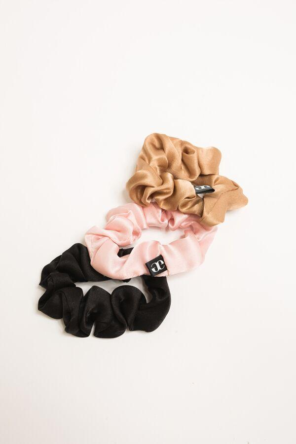 """<h3>Grace Eleyae Medium Silk Scrunchie</h3><br>A great pick for the indecisive, this three-pack by Grace Eleyae comes in three different color ways: black, camel, and baby pink.<br><br><strong>Grace Eleyae</strong> Medium Silk Scrunchie - 3 Pack, $, available at <a href=""""https://go.skimresources.com/?id=30283X879131&url=https%3A%2F%2Fwww.graceeleyae.com%2Fcollections%2Fscrunchies-1%2Fproducts%2Fsatin-scrunchie-bundle"""" rel=""""nofollow noopener"""" target=""""_blank"""" data-ylk=""""slk:Grace Eleyae"""" class=""""link rapid-noclick-resp"""">Grace Eleyae</a>"""