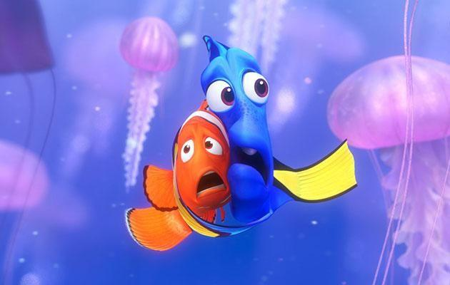 Unlike in 'Finding Nemo', these jellyfish weren't harmful to touch. Source: Pixar.