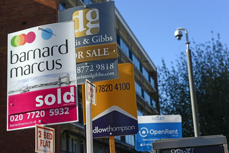 <p>More help to buy: The Chancellor is helping lenders to offer 95 per cent mortgages </p> (Daniel Lynch)