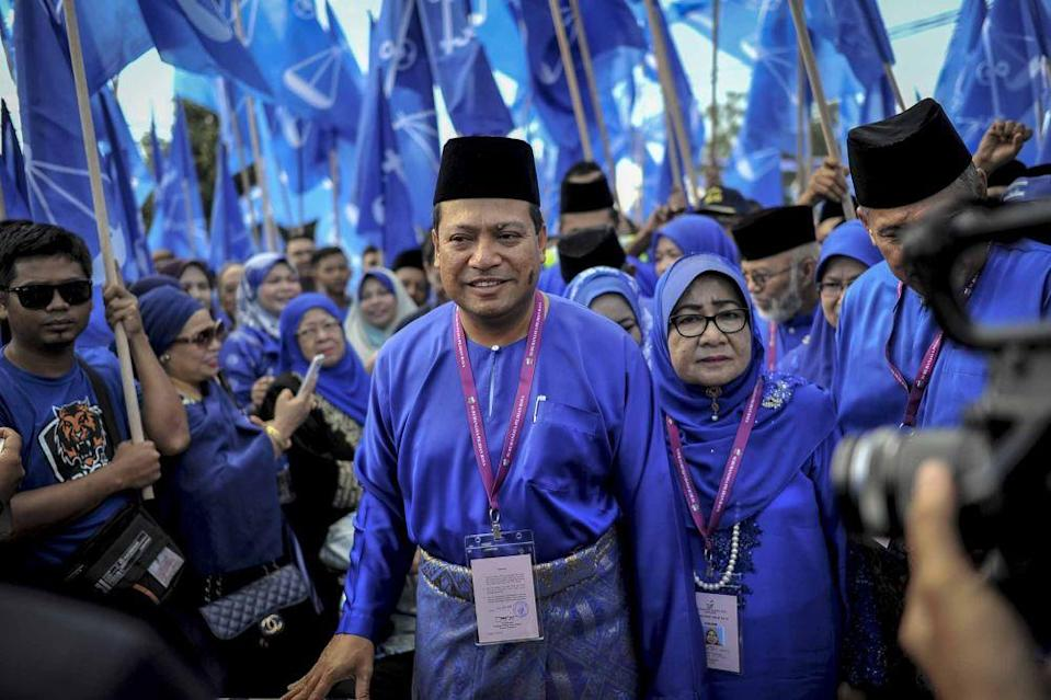 Ismail said that the Umno grassroots in Pagoh do not want to work with Parti Pribumi Bersatu Malaysia. ― Picture by Firdaus Latif