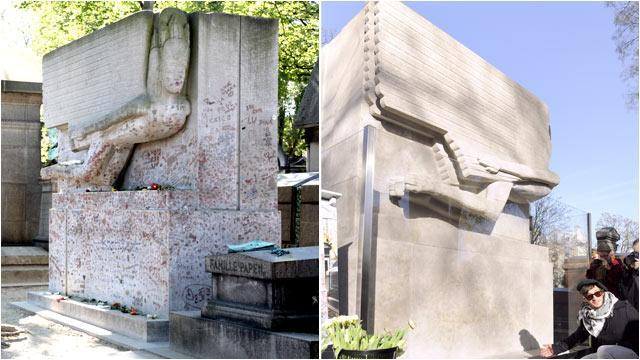 No More Kisses for Oscar Wilde's Tomb (ABC News)