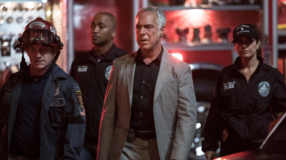 Titus Welliver returns to play the lead role for the final season of police procedural show 'Bosch'. (Hopper Stone/Amazon)