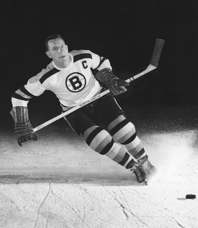 <p>Milt Schmidt (1918-2017): Hall of Fame hockey player who won two Stanley Cups with the Boston Bruins. </p>