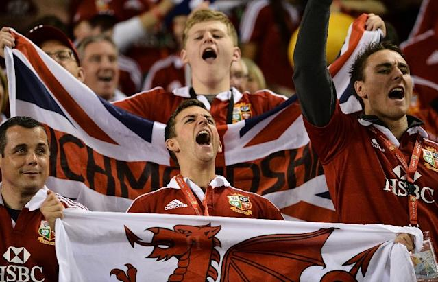 British and Irish Lions fans will hope the 'Saracens Six' can match the achievement of London Welsh's 'Magnificent Seven' (AFP Photo/PAUL CROCK)