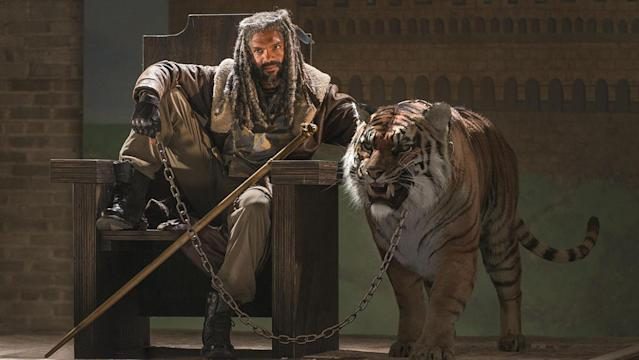 Khary Payton as Ezekiel in 'The Walking Dead' (Photo: Gene Page/AMC)
