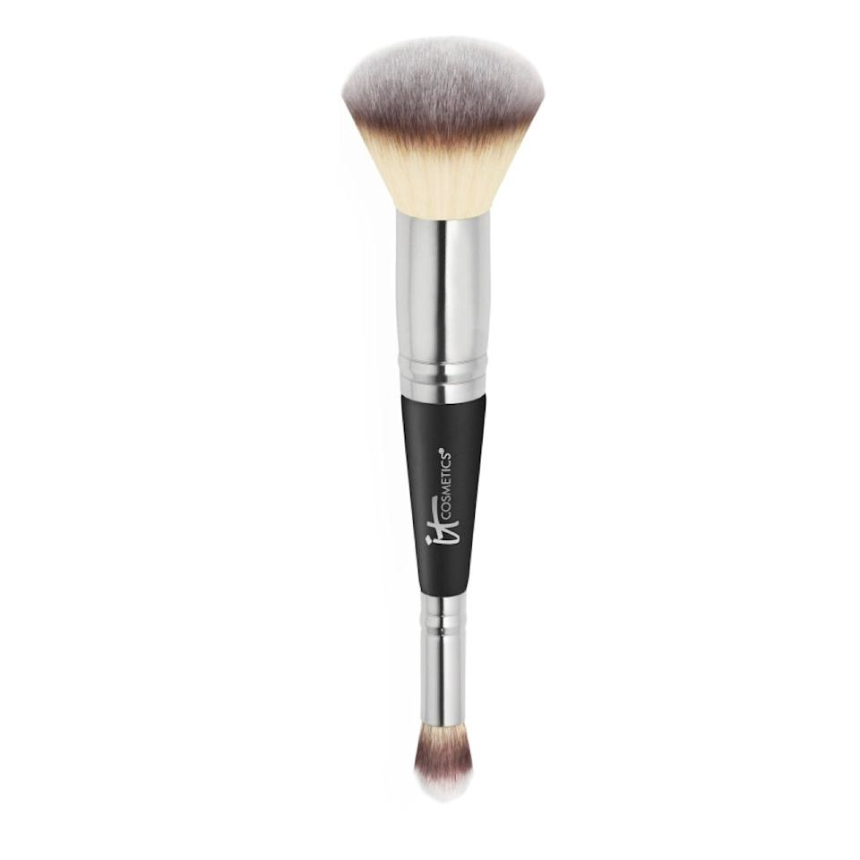 "$48, It Cosmetics Heavenly Luxe Complexion Perfection Brush #7. <a href=""https://www.ulta.com/heavenly-luxe-complexion-perfection-brush-7?productId=xlsImpprod5770301"">Get it now!</a>"