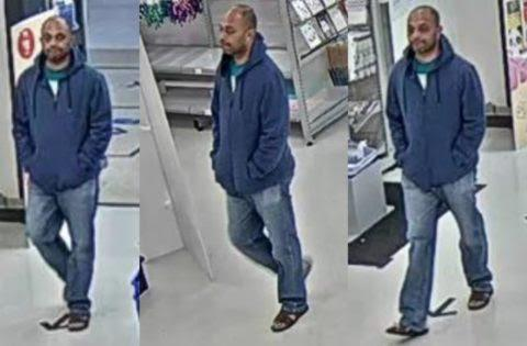 "Queensland Police are looking for a man who ""inappropriately"" touched a 14-year-old girl at a Kmart on June 27. Source: Queensland Police"