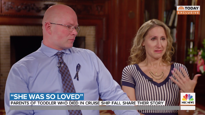 Alan and Kimberly Wiegand speak out for the first time after their daughter, Chloe Wiegand, fell from the 11th floor of a Royal Caribbean Cruise. (Photo: TODAY)