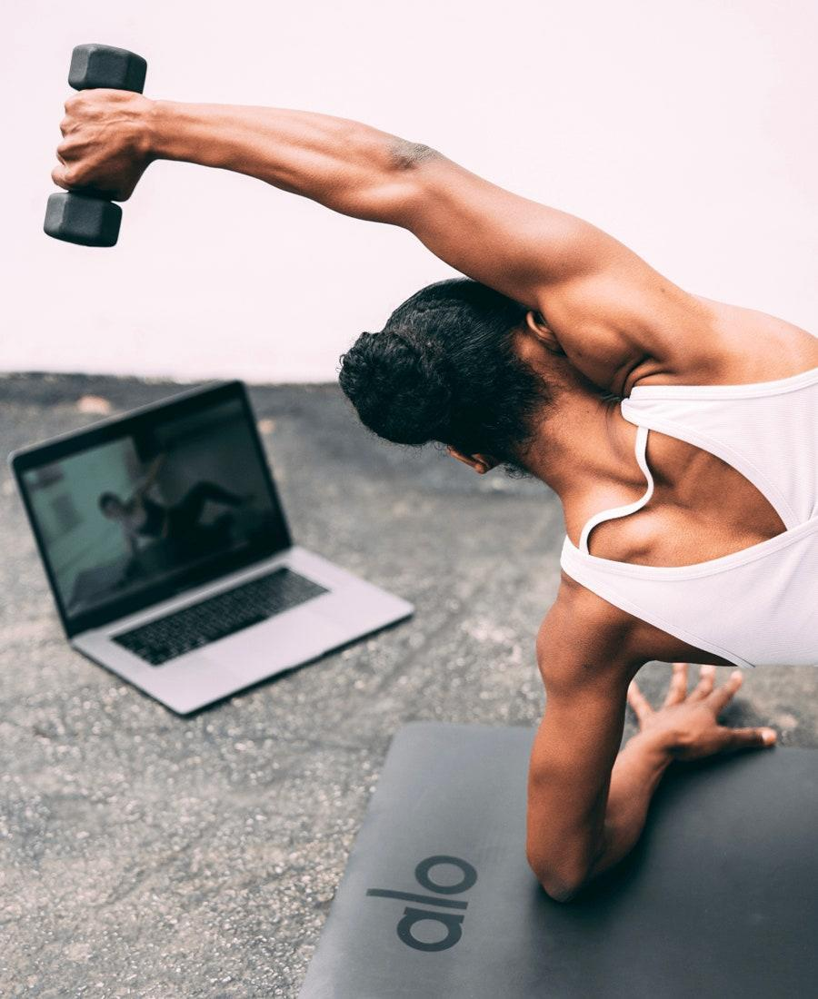 "Get her on the mat with a monthly membership to Alo Moves—the on-demand yoga, fitness, and mindfulness platform that <a href=""https://www.glamour.com/story/alo-moves-you-need-this?mbid=synd_yahoo_rss"" rel=""nofollow noopener"" target=""_blank"" data-ylk=""slk:makes working out at home actually fun"" class=""link rapid-noclick-resp"">makes working out at home <em>actually</em> fun</a> (and approachable). For $20 a month, she'll have unlimited access to thousands of classes and series between 15 minutes to over an hour, from beginner level to advanced. $20, Alo. <a href=""https://www.pntrs.com/t/SENKSUpLR0tDR09MSk5GQ0dNRk9LTg?sid=LastMinuteMothersDay20"" rel=""nofollow noopener"" target=""_blank"" data-ylk=""slk:Get it now!"" class=""link rapid-noclick-resp"">Get it now!</a>"