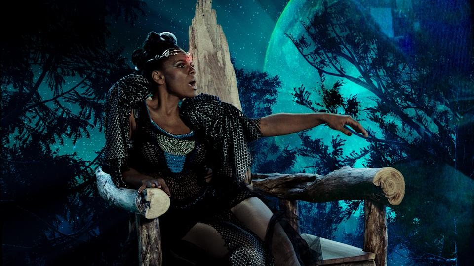 Audra McDonald in a musical number from <em>Hello Again</em>. (Photo: The Orchard)