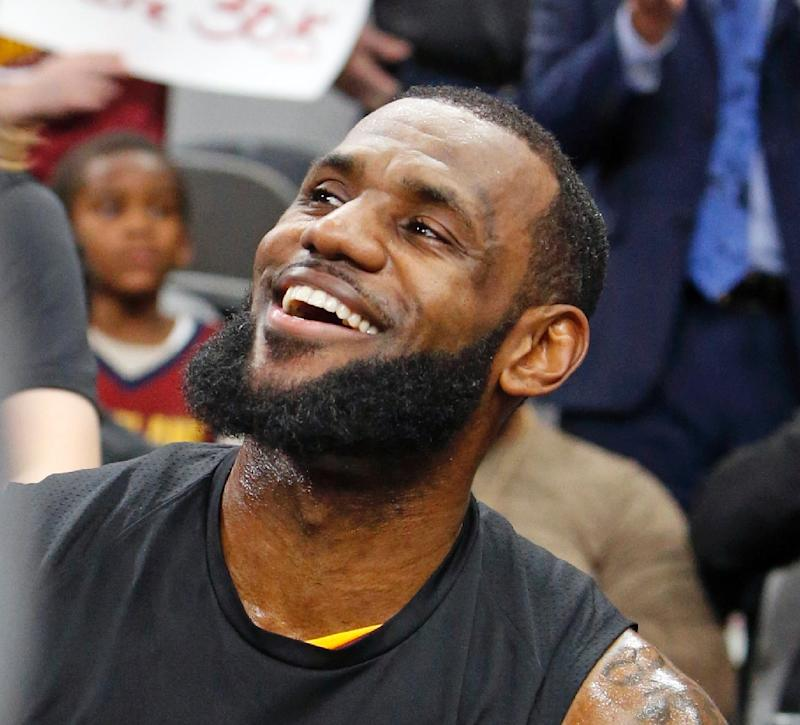 King James Eyes History After Points Milestone